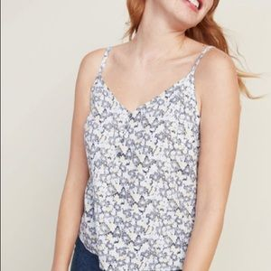 Old Navy V-Neck Button-Front Cami